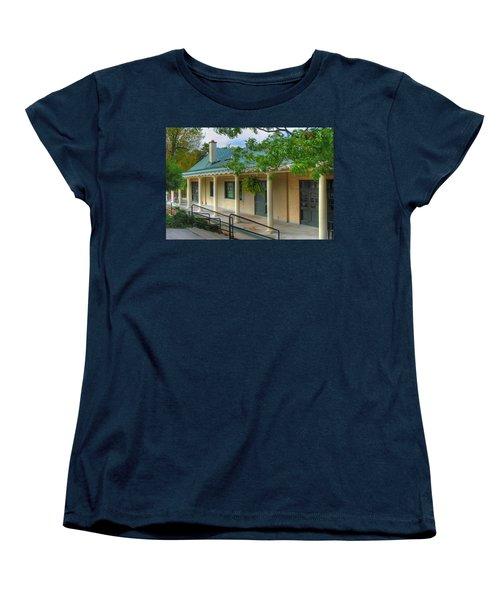 Women's T-Shirt (Standard Cut) featuring the photograph Delaware Park Casino by Michael Frank Jr