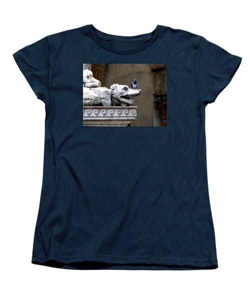 Despised Pigeon Women's T-Shirt (Standard Cut) by Eric Tressler