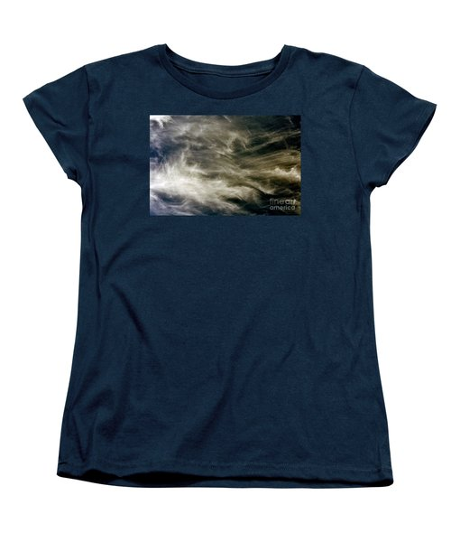 Women's T-Shirt (Standard Cut) featuring the photograph Dirty Clouds by Clayton Bruster