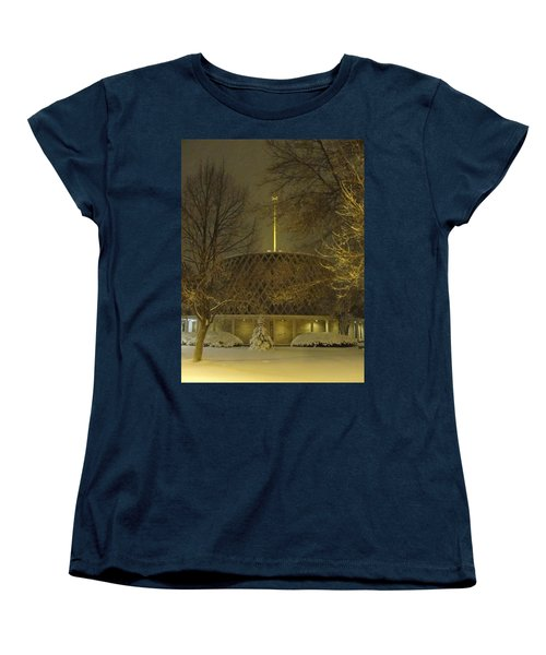 Women's T-Shirt (Standard Cut) featuring the photograph Dorcas Chapel by Tiffany Erdman