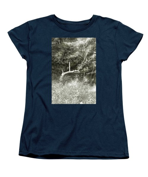 Women's T-Shirt (Standard Cut) featuring the photograph Dragon Bones by Mary Almond