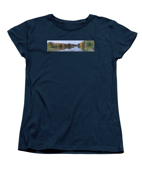 Women's T-Shirt (Standard Cut) featuring the photograph Durand Lake by William Norton