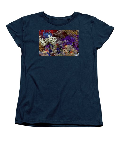 Women's T-Shirt (Standard Cut) featuring the mixed media Early In The Cycle by Terence Morrissey