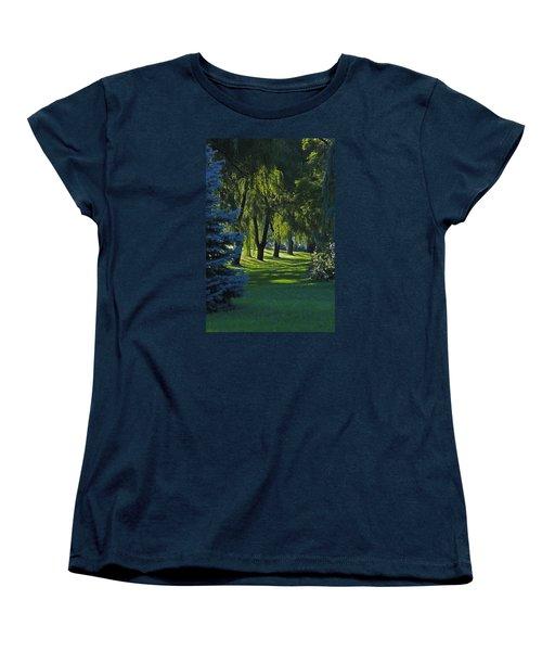 Early Morning Women's T-Shirt (Standard Cut) by John Stuart Webbstock
