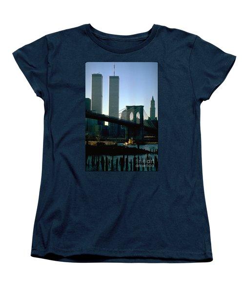 East River Tugboat Women's T-Shirt (Standard Cut) by Mark Gilman