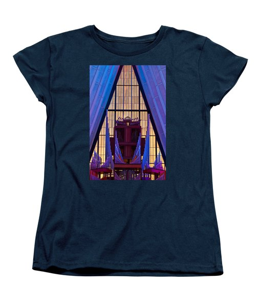 Echo Of The Pipes Women's T-Shirt (Standard Cut) by Colleen Coccia
