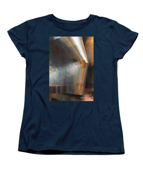 Emp Abstract Fold Women's T-Shirt (Standard Cut) by Chris Dutton