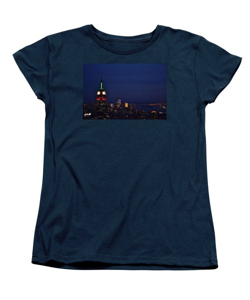 Empire State Building3 Women's T-Shirt (Standard Cut) by Zawhaus Photography