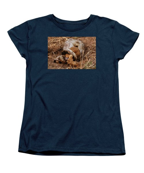 Women's T-Shirt (Standard Cut) featuring the photograph Entrapped by Fotosas Photography
