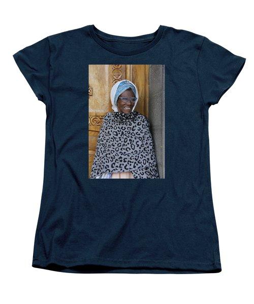 Ethiopia-south Orthodox Christian Woman Women's T-Shirt (Standard Cut) by Robert SORENSEN
