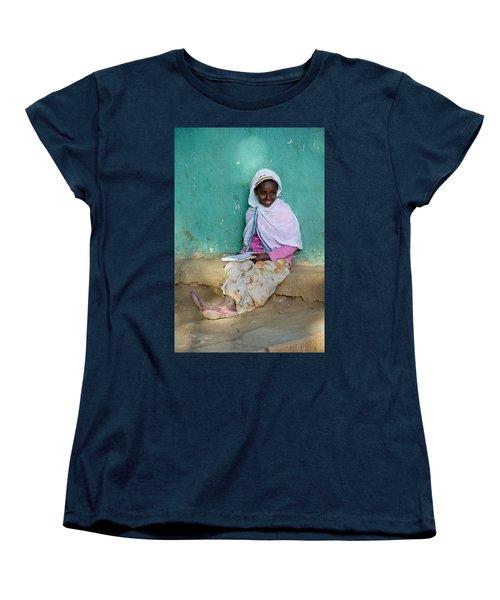Ethiopia-south School Girl Women's T-Shirt (Standard Cut) by Robert SORENSEN