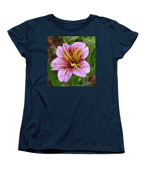Women's T-Shirt (Standard Cut) featuring the photograph Exploding Beauty by Wendy McKennon