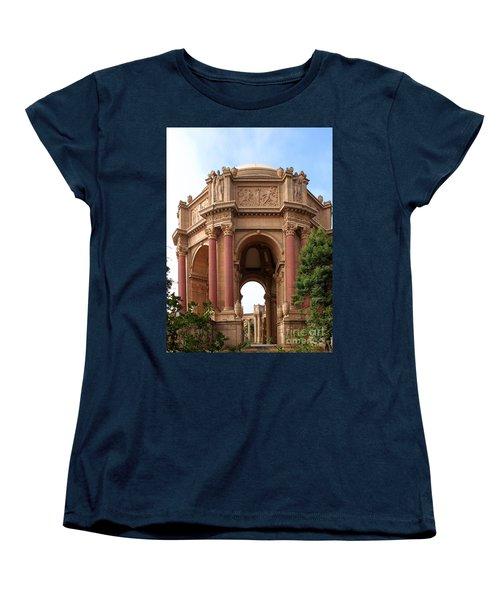 Exploratorium San Francisco Women's T-Shirt (Standard Cut) by Henrik Lehnerer