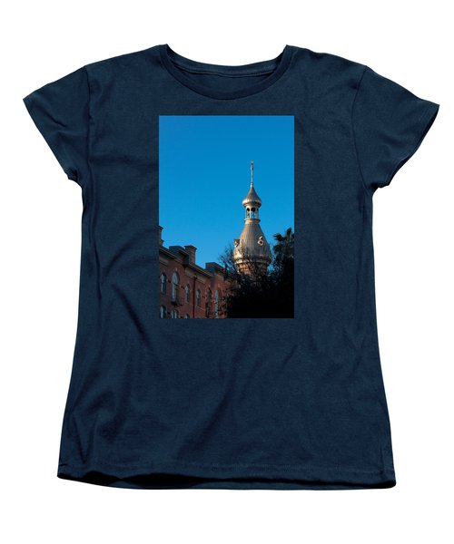 Women's T-Shirt (Standard Cut) featuring the photograph Facade And Minaret by Ed Gleichman