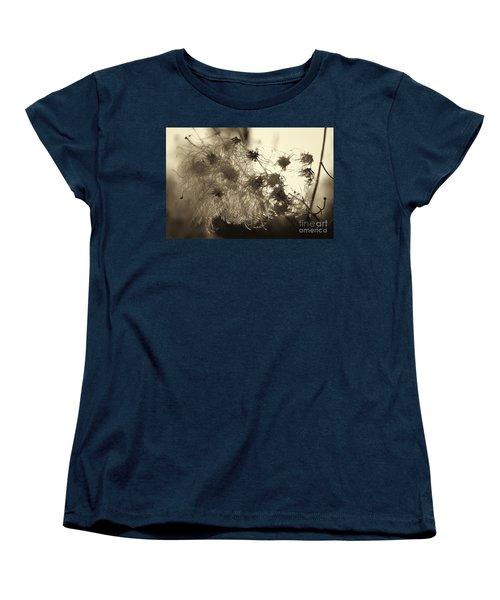 Filaments Women's T-Shirt (Standard Cut) by Eunice Gibb