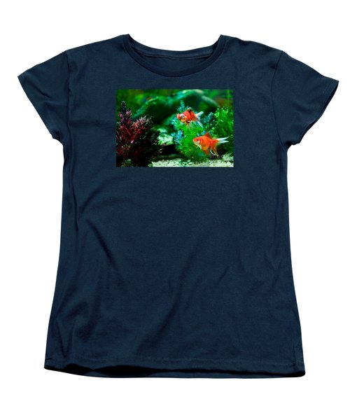 Women's T-Shirt (Standard Cut) featuring the photograph Fish Tank by Matt Malloy