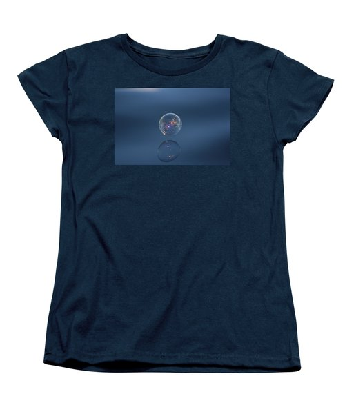 Women's T-Shirt (Standard Cut) featuring the photograph Floating On The Breeze by Cathie Douglas