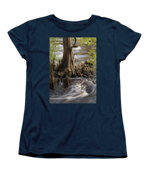 Women's T-Shirt (Standard Cut) featuring the photograph Florida Rapids by Steven Sparks