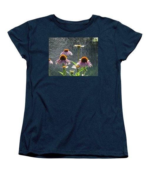 Flowers In The Rain Women's T-Shirt (Standard Cut)