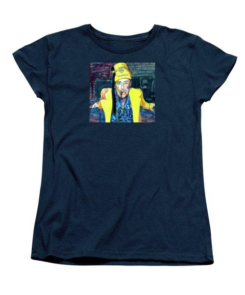 Frankie Delboo  Women's T-Shirt (Standard Cut) by Les Leffingwell