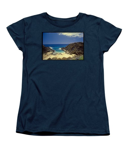 From Here To Eternity Beach Women's T-Shirt (Standard Cut) by Mark Gilman