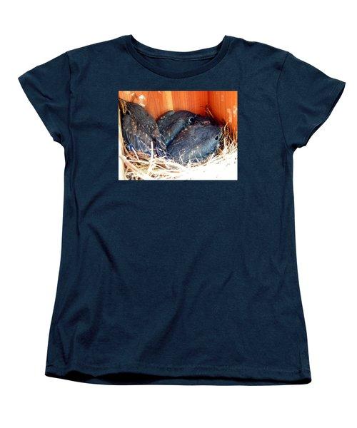 Getting Crowded Women's T-Shirt (Standard Cut) by Judy Wanamaker