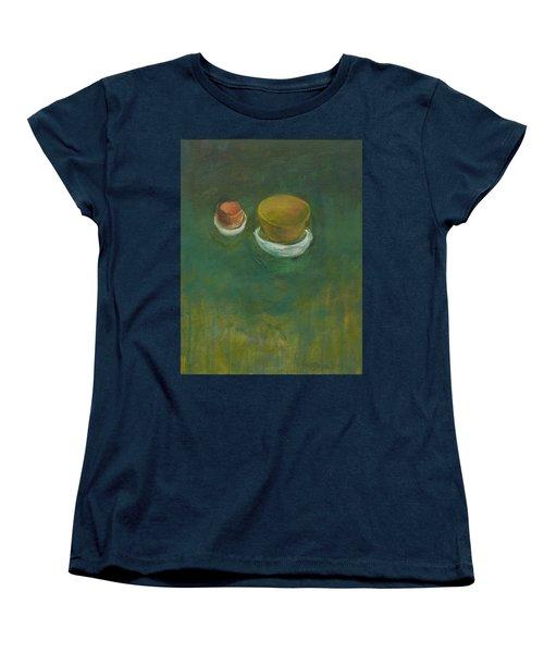 Women's T-Shirt (Standard Cut) featuring the painting Ginger Pot by Kathleen Grace