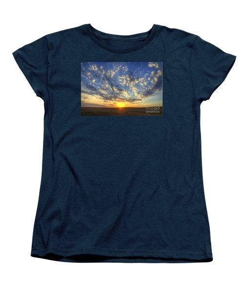 Glorious Sunrise Women's T-Shirt (Standard Cut) by Jim and Emily Bush