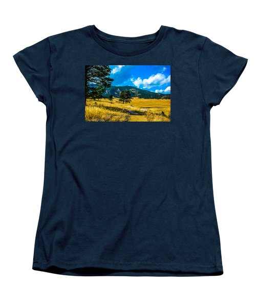 Women's T-Shirt (Standard Cut) featuring the photograph God's Country by Shannon Harrington