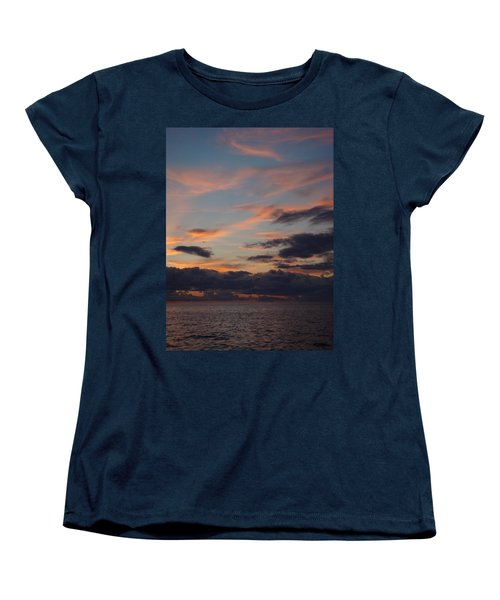 Women's T-Shirt (Standard Cut) featuring the photograph God's Evening Painting by Bonfire Photography