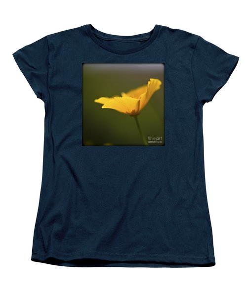 Golden Afternoon. Women's T-Shirt (Standard Cut) by Clare Bambers