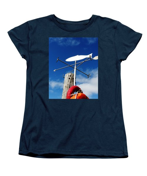 Women's T-Shirt (Standard Cut) featuring the photograph Gone Fishing by Charlie and Norma Brock
