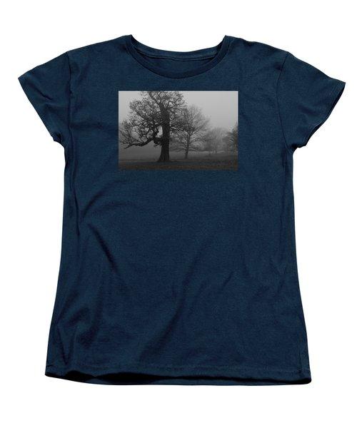 Women's T-Shirt (Standard Cut) featuring the photograph Gradual Trees by Maj Seda