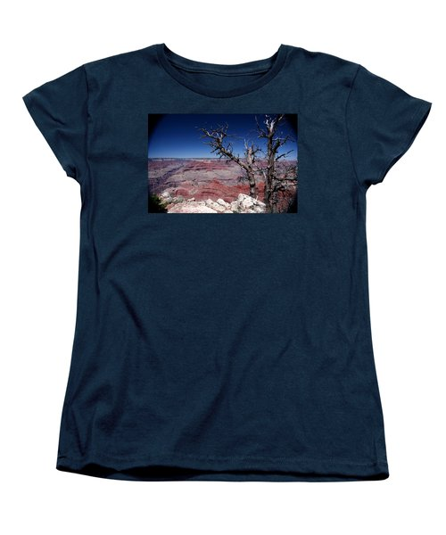 Women's T-Shirt (Standard Cut) featuring the photograph Grand Canyon Number One by Lon Casler Bixby