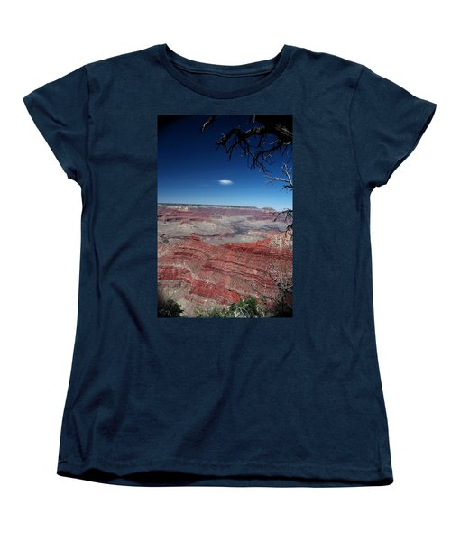 Women's T-Shirt (Standard Cut) featuring the photograph Grand Canyon Number Three by Lon Casler Bixby