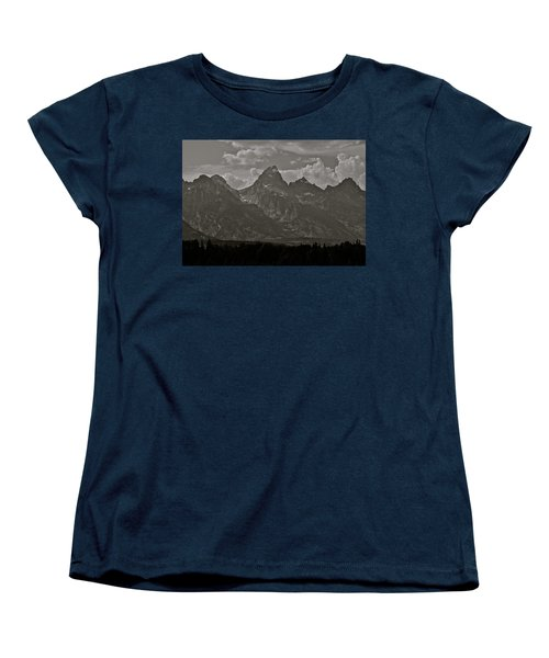 Women's T-Shirt (Standard Cut) featuring the photograph Grand Tetons by Eric Tressler