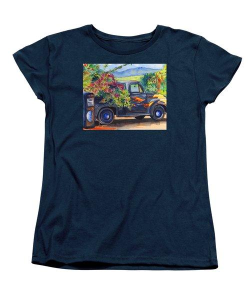Hanapepe Truck Women's T-Shirt (Standard Cut) by Marionette Taboniar