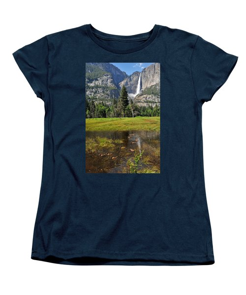 Women's T-Shirt (Standard Cut) featuring the photograph Happy Campers by Lynn Bauer