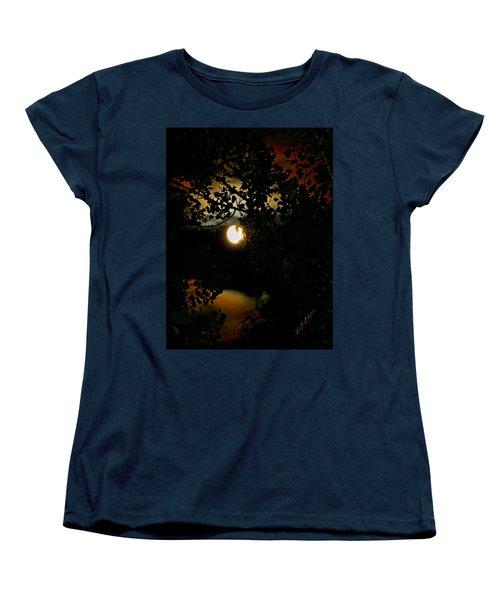 Haunting Moon IIi Women's T-Shirt (Standard Cut) by Jeanette C Landstrom