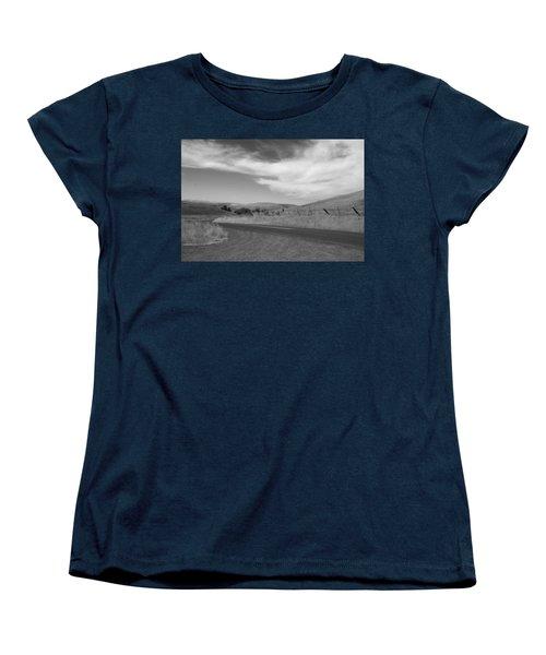 Women's T-Shirt (Standard Cut) featuring the photograph Heading Inland by Kathleen Grace