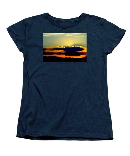 Heaven Is Watching Women's T-Shirt (Standard Cut) by Jeanette C Landstrom