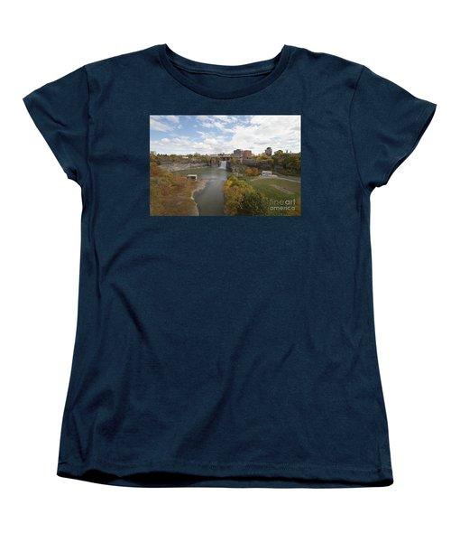 Women's T-Shirt (Standard Cut) featuring the photograph High Falls by William Norton