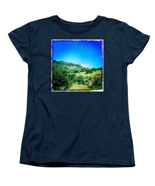 Women's T-Shirt (Standard Cut) featuring the photograph Hollywood by Nina Prommer