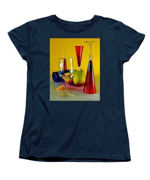 Women's T-Shirt (Standard Cut) featuring the photograph Honor To  Mondrian  by Elf Evans