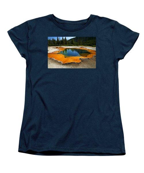 Hot Springs Yellowstone Women's T-Shirt (Standard Fit)