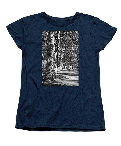 Women's T-Shirt (Standard Cut) featuring the photograph Hyde Park Trees by Maj Seda