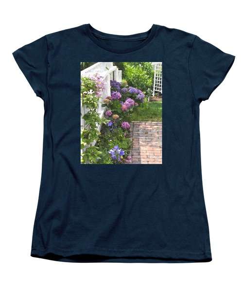 Hydrangeas  Hwc Women's T-Shirt (Standard Cut)