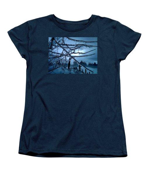 Illumination Women's T-Shirt (Standard Cut) by Rory Sagner