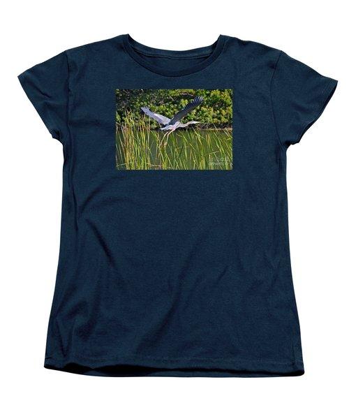 In Flight Women's T-Shirt (Standard Cut) by Carol  Bradley