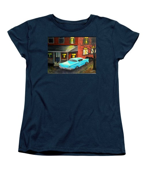 In For The Night Women's T-Shirt (Standard Cut) by Renate Nadi Wesley